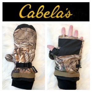 Cabela's Realtree Fleece Lined Glommits